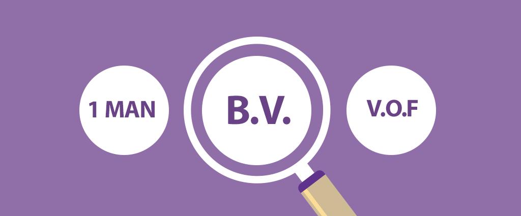 Vergelijking B.V. met V.O.F en eenmanszaak | Comak