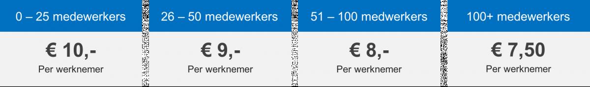 Tarieven Salarisadministratie | Comak