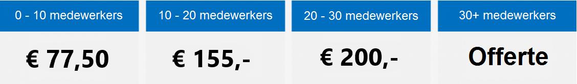 Inrichtingskosten salarisadministratie | Comak Administratiekantoor Haarlem