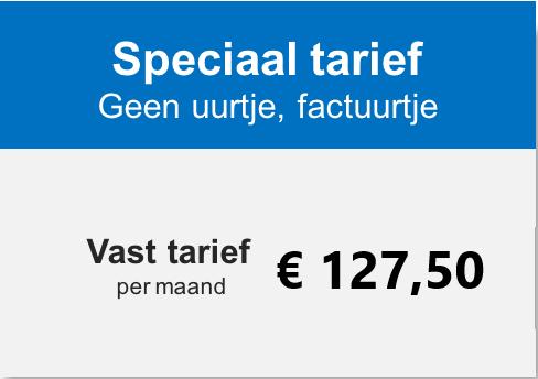 Vast en scherp tarief voor ZZP'ers bij Comak Administratiekantoor Haarlem